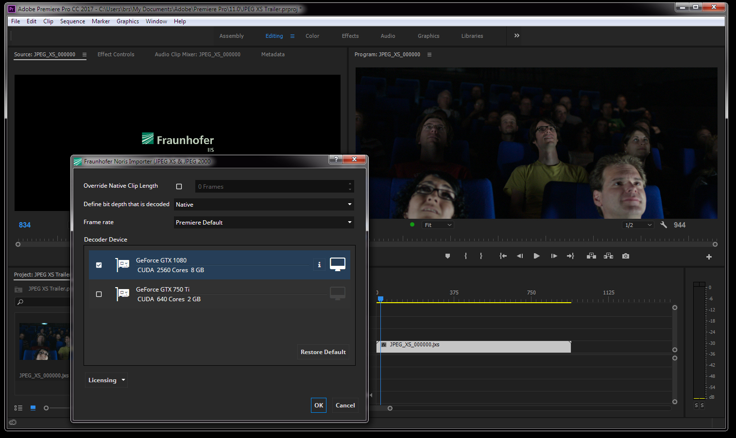 JPEG XS – Image coding for video over IP transmission in production ...