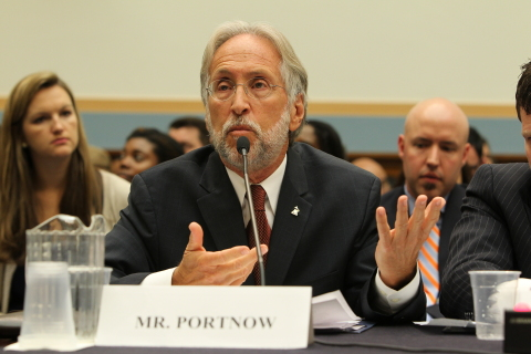 Recording Academy President/CEO Neil Portnow testifies before Congress, calls for music omnibus bill at the House Judiciary Committee hearing on music licensing on Capitol Hill, June 10, 2014 in Washington, DC. The omnibus bill was introduced in the House of Representatives as the Music Modernization Act on April 10, 2018, a week before the Recording Academy's annual GRAMMYs on the Hill® Awards and Advocacy Day.    Courtesy of the Recording Academy™/WireImage.com, photo by Paul Morigi© 2014