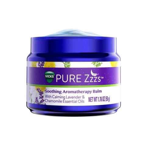 Vicks® PURE Zzzs™ Soothing Aromatherapy Balm Product Image (Photo: Business Wire)
