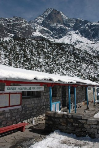 A Carestream Vita Flex CR system in Kunde, Nepal, provides imaging services for residents, mountaine ...