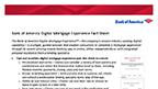Digital Mortgage Experience Fact Sheet