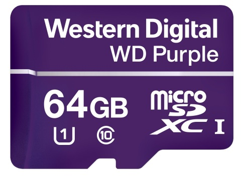 New Western Digital Purple microSD is purpose-built for today's surveillance system data demands (Ph ...