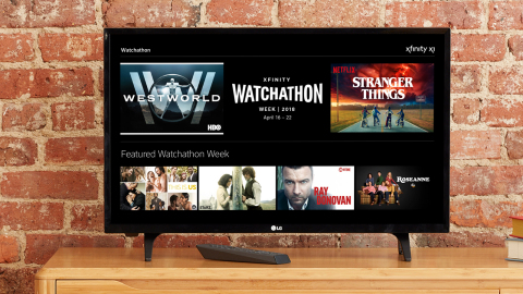 Xfinity Watchathon Week Returns April 16 – 22 With More For The Entire Family… and The Dog (Photo: Business Wire)