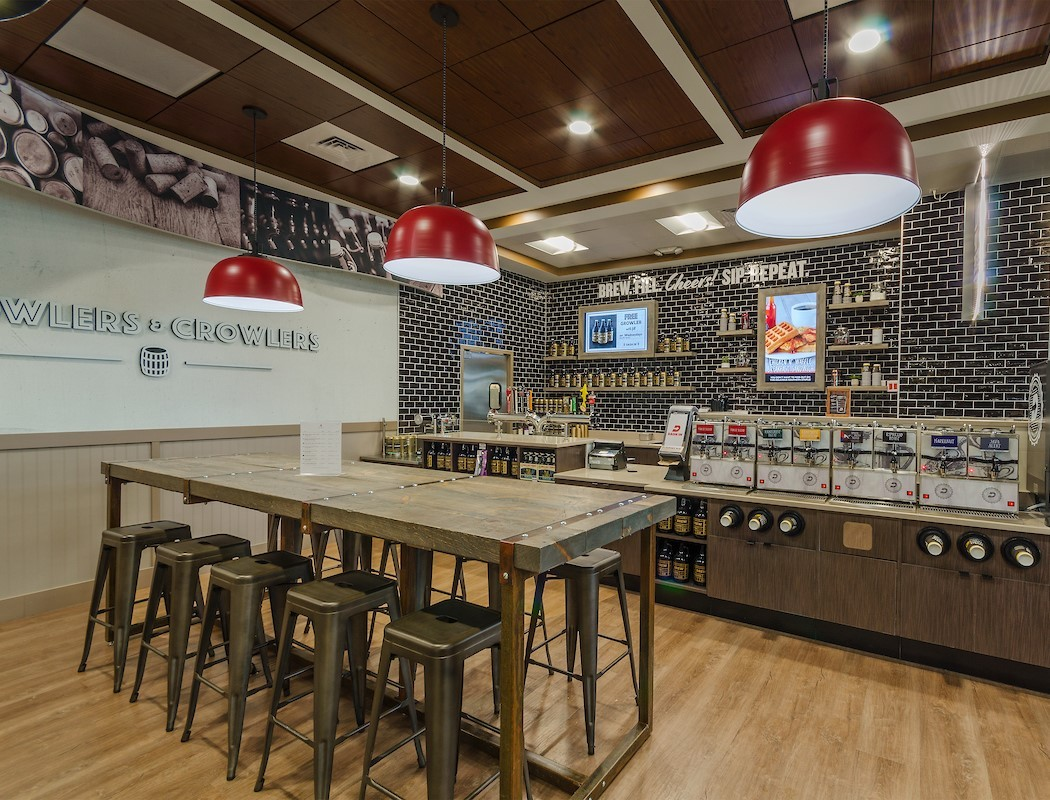 Dash In Unveils New Store Design In Chesterfield County Virginia - Community table restaurant