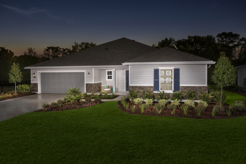 New KB homes now available in Jacksonville, Florida. (Photo: Business Wire)