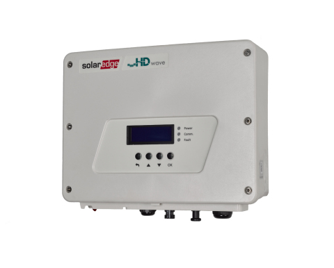 SolarEdge's award-winning HD-Wave Technology Inverter (Photo: Business Wire)