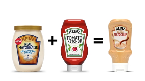 New Heinz Real Mayonnaise + Heinz Ketchup = Heinz Mayochup (Photo: Business Wire)