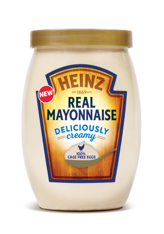 Heinz launches New Deliciously Creamy Heinz Real Mayonnaise (Photo: Business Wire)