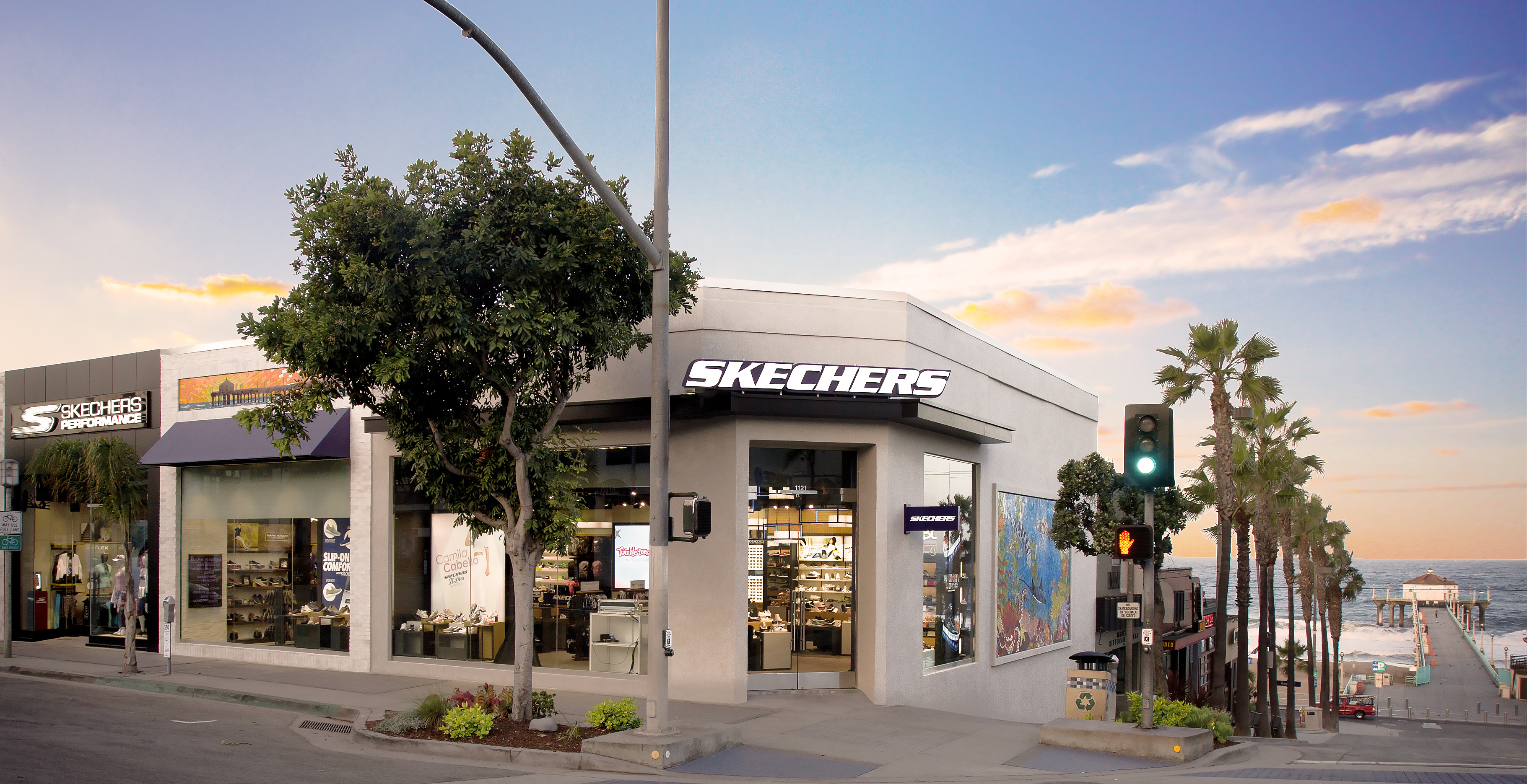 Skechers Honors Manhattan Beach with
