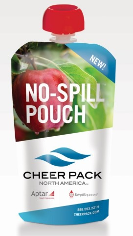No-Spill Pouch (Photo: Cheer Pack North America)