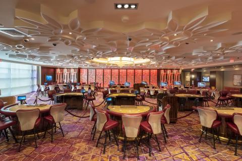 Resorts World Catskills Palace High Limit Room (Photo: Business Wire)
