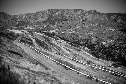 Landfill gas collection system at Lopez Canyon Landfill in Sylmar, CA. (Photo: Business Wire)