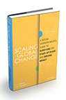 Scaling Global Change co-authored by Erin Ganju and Dr. Cory Heyman. (Photo: Business Wire)