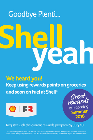 Southeastern Grocers will introduce a new loyalty program this summer - SE Grocers rewards - which will allow customers to redeem points on groceries and fuel at participating Shell or other select fuel stations. (Photo: Business Wire)