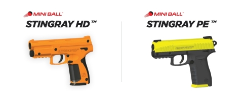 SDI's innovative new Personal Security Devices (PSD).PSDs will only be produced in safety colors to ensure that they are not mistaken for lethal firearms. For more information see details at https://securitydii.com/mini-ball-stingray/ (Photo: Business Wire)
