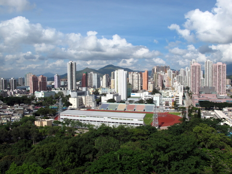 Yuen Long Skyline (By WiNG - Own work, CC BY-SA 3.0)