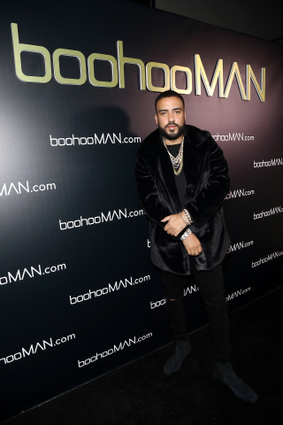 boohooMAN.com celebrates the launch of their collaboration with French Montana by hosting a party in ...