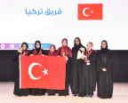 Turkish team – Her Excellency Sheikha Hind bint Hamad Al Thani - Mrs. Machaille Al-Naimi (Photo: AETOSWire)