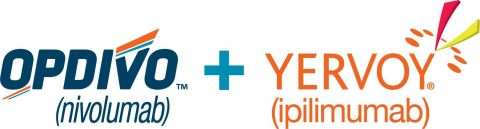 OPDIVO® (nivolumab) + YERVOY® (ipilimumab) logo. Please see the U.S. Full Prescribing Information for OPDIVO and YERVOY, including Boxed WARNING for YERVOY regarding immune-mediated adverse reactions, below.