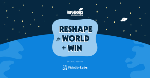FreshBooks' Reshape the World Challenge aims to discover and support startups working to make life easier for self-employed people https://www.freshbooks.com/reshape-the-world (Graphic: Business Wire)