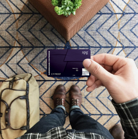 Starwood Preferred Guest® American Express Luxury Card (Photo: Business Wire)