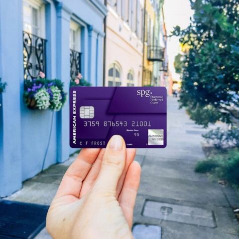 Starwood Preferred Guest® Consumer Credit Card from American Express (Photo: Business Wire)