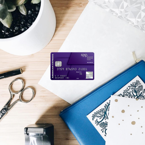 Starwood Preferred Guest® Business Credit Card from American Express (Photo: Business Wire)