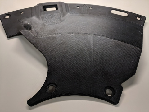 Lockheed Martin is one of the first customers leveraging Stratasys' Antero material - a PEKK-based thermoplastic with advanced mechanical, chemical and thermal properties. (Photo: Business Wire)