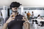 Virtual reality is one of the technologies that is enabled by the Data Intensive Archetype identified in the Vertiv report on network edge use cases. (Photo: Business Wire)