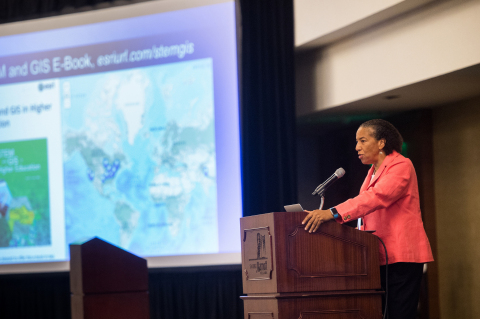 Dr. Dawn Wright, Esri chief scientist, will speak at the EarthxOcean Conference being held April 20 through 23 in Dallas, Texas. (Photo: Business Wire)