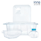 Innovive Disposable Cages – made from 100% BPA-free, recyclable PET plastic (Photo: Business Wire)