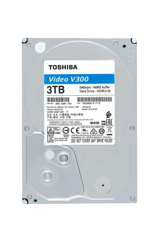 東芝:ビデオストリーミング向けの3.5型内蔵ハードディスク「V300 Video Streaming Hard Driveシリーズ」(写真:ビジネスワイヤ)