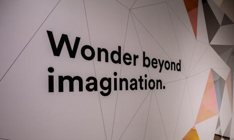 """The """"Wonder Beyond Imagination"""" experience at Milan Design Week 2018. (Photo: 3M)"""