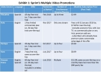 Sprint Video Promotions (Graphic: Business Wire)