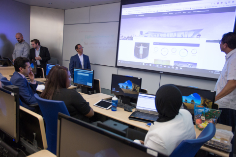 Data analytics is one of the defining business tools of the 21st century. FIU Business' ATOM Think Tank, which stands for Analytics, Technology Consulting and Operations Management, is FIU's first faculty technology consulting service and provides experiential learning opportunities for students. (Photo: Business Wire)