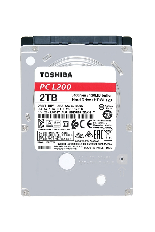 Toshiba Releases Full Line-up of Consumer Internal Hard Drives