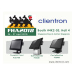 Clientron to Display Its Latest POS Terminals at Food & Hotel Asia 2018 Expo
