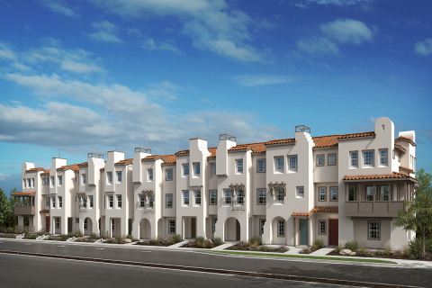 KB Home's Laterra in San Diego now open and offering new townhomes for sale in a desirable Pacific H ...