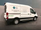 Puget Sound Energy, the Washington state energy provider, improves fleet fuel efficiency and reduces emissions with 40 new XL-powered hybrid utility vans. (Photo: Business Wire)