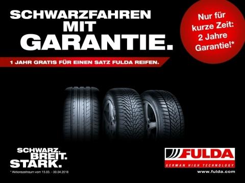 Bei ReifenDirekt.de Fulda Reifen kaufen und Schwarzfahr-Garantie erhalten (Foto: Business Wire)