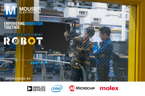 Mouser Electronics and engineer spokesperson Grant Imahara team up to present the Generation Robot s ...