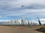 Xcel Energy, a leader in using drone technology to inspect energy infrastructure, will be the first utility in the nation to routinely fly unmanned aircraft beyond the operator's line of sight when it begins surveying transmission lines near Denver, Colorado. (Photo: Northern Plains UAS Test Site)