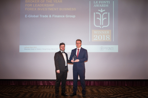 E-Global Trade & Finance Group Inc. better-known as Forex4you wins the Le Fonti Awards in Hong Kong  ...