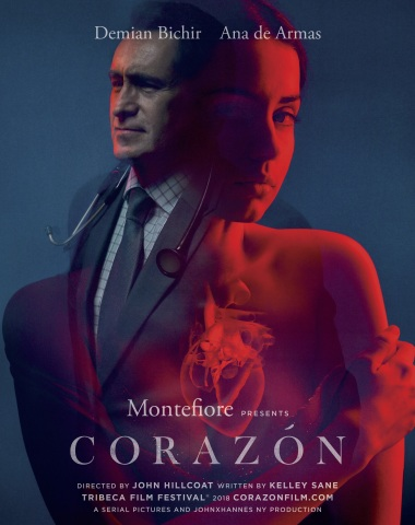 Montefiore presents the short film Corazón during the Tribeca Film Festival starring Demian Bichir and Ana de Armas. (Graphic: Business Wire)