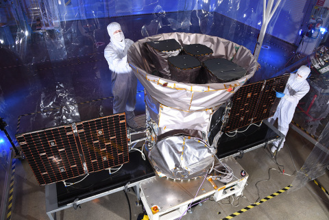 The Transiting Exoplanet Survey Satellite (TESS) was built at Orbital ATK's Dulles, Virginia, facility. It is the company's 31st science spacecraft delivered to NASA. (Photo: Business Wire)