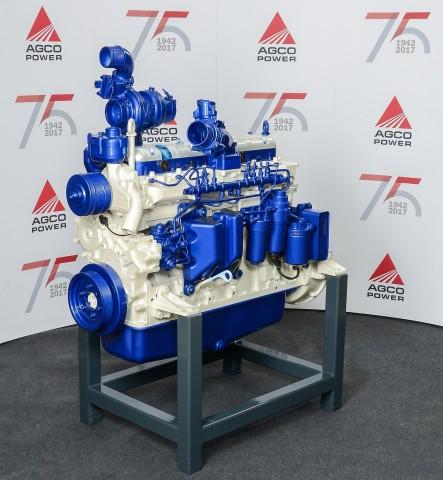 AGCOパワーの100万台目のエンジン(写真:ビジネスワイヤ)