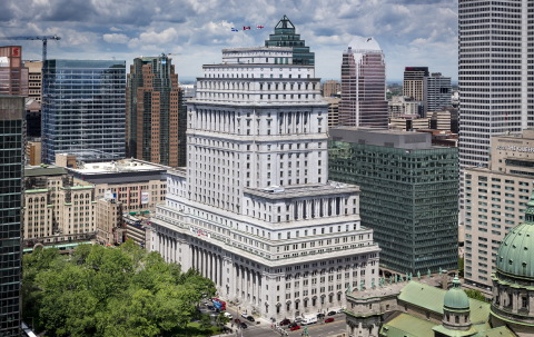 The Sun Life Building in downtown Montreal, Quebec (Photo: Business Wire)