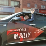 Hyundai Mobis: Autonomous Car 'M.BILLY' Ready to Hit the Road around the World