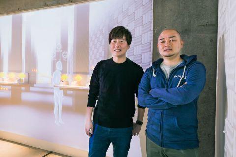 Left: CEO Kenta Krahashi, Right: CTO Naoki Shibayama (Photo: Business Wire)