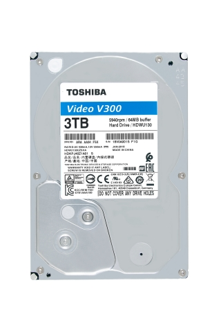 Toshiba: V300 Video Streaming Hard Drive series designed for applications such as video editing systems and set-top-box (STB). (Photo: Business Wire)